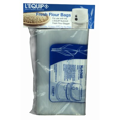 L'Equip Extra Bags for Flour Bagger (Set of 10)