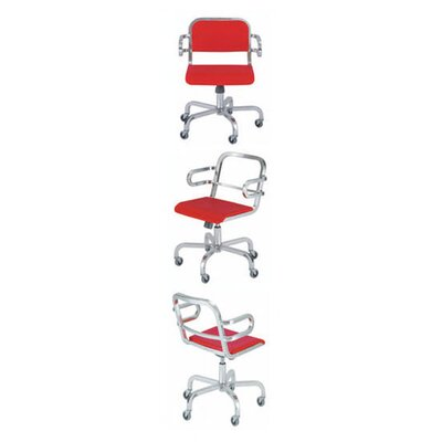 Emeco Nine-0 Swivel Office Chair with Arms