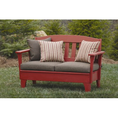 Uwharrie Chair Westport Wood Garden Bench