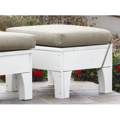 Uwharrie Chair Westport Ottoman with Cushion