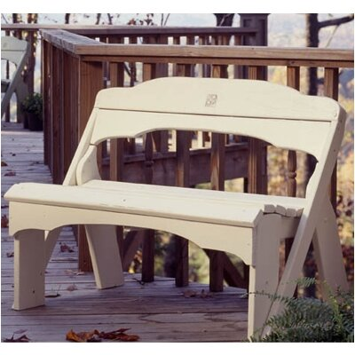 Uwharrie Chair Fanback Wood Garden Bench