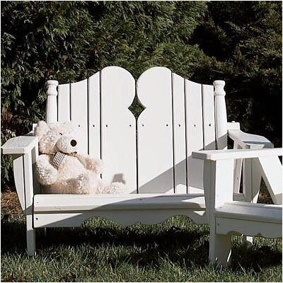 Uwharrie Chair Nantucket Kid's 2 Seater Adirondack Chair