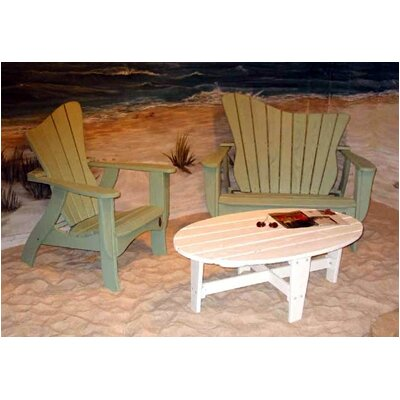 Uwharrie Chair Wave Garden Bench