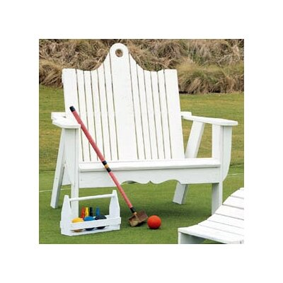 Uwharrie Chair Bridgehampton Wood Garden Bench