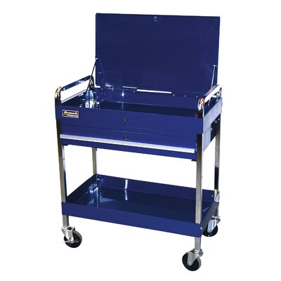 "Homak Professional 31.5"" Wide 1 Drawer Service Cart"