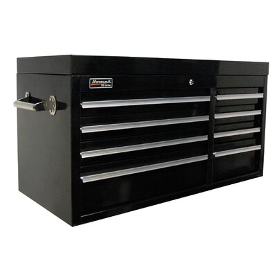 Homak Professional 41'' Wide 8 Drawer Top Cabinet