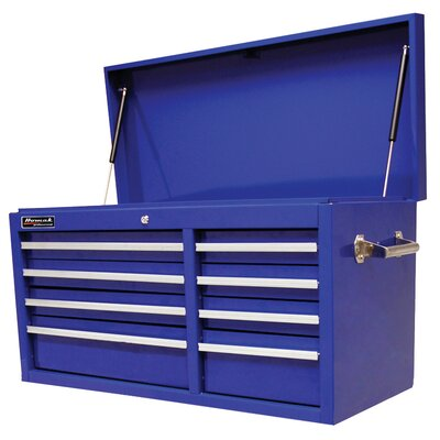Homak 41 Se Series 8 Drwr Top Chest - Blue