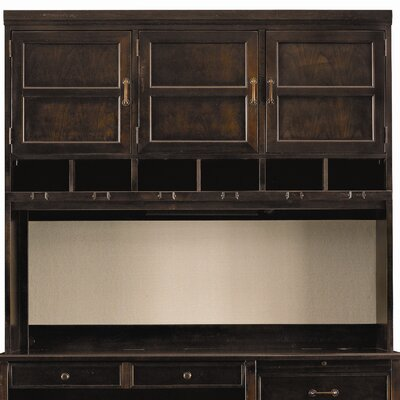 "Stanley Furniture Modern Craftsman Woodworkers 52.75"" H x 60.25"" W Hutch"