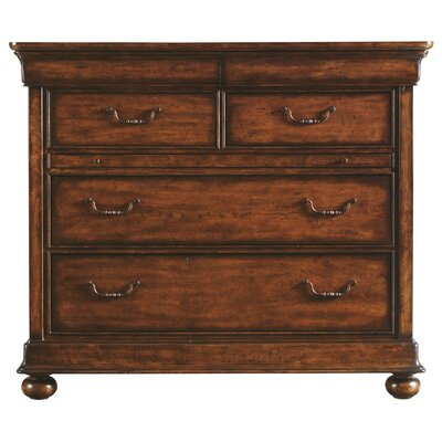 Stanley Furniture The Classic Portfolio Louis Philippe 4 Drawer Media Chest