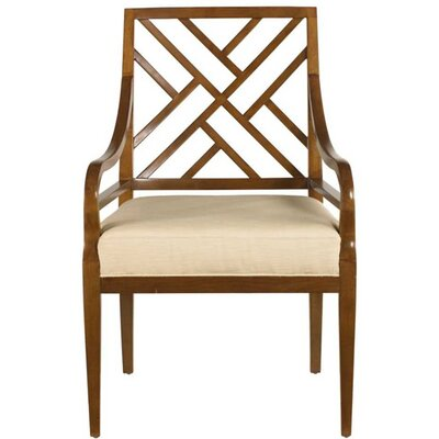 Stanley Furniture Continuum Fret Back Arm Chair