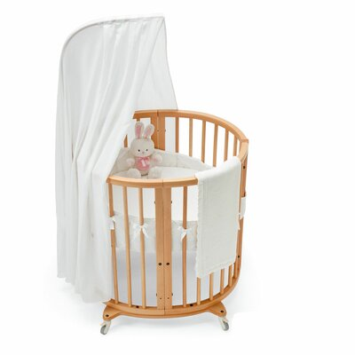 Stokke Textiles Sleepi Mini Bassinet Bedding Collection-Sleepi Bassinet Fitted Sheet