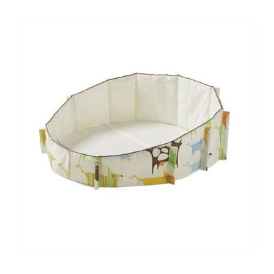 Stokke Sleepi Bassinet Bumper in Green Tales