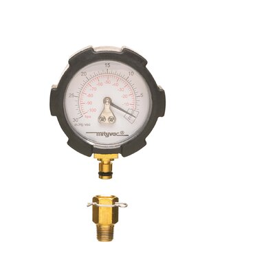 Prism Enterprises Inc Rpl Vacuum Gauge W/Qk Disconnect & Boot