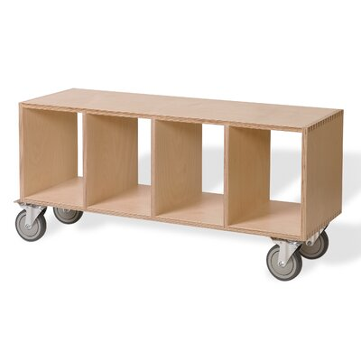 Offi Birch Plywood Storage Bench