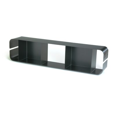 Offi Pure Design Duoplane DVD Multimedia Wall Mouted Storage Rack