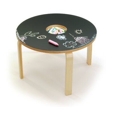 Woody Chalkboard Kids Table