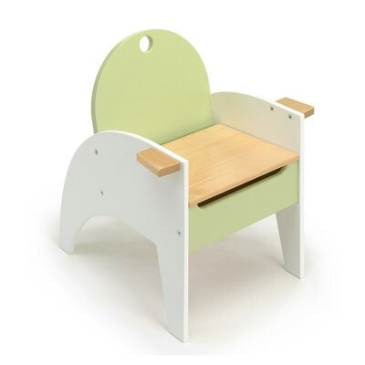 Hide-n-Sit Armchair in Green
