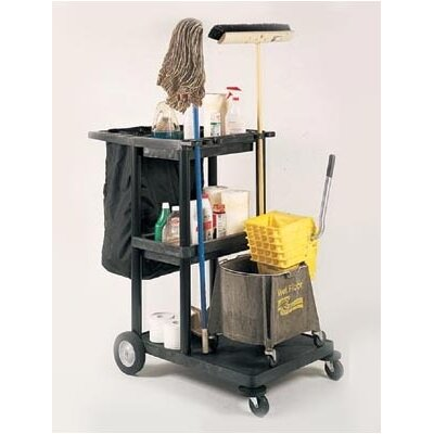 """Luxor 48"""" Janitor Cart"""