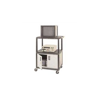 Luxor LP Series TV Cart with Locking Cabinet