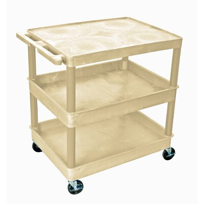 Luxor Three Shelf Utility Cart