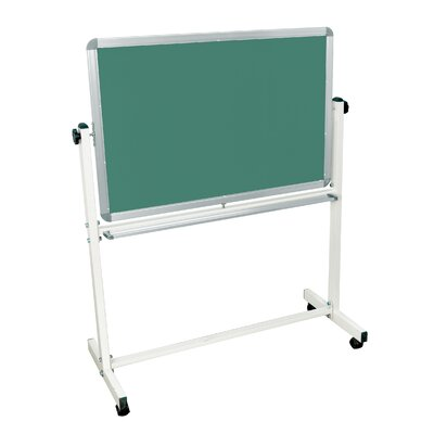 "Luxor Mobile Magnetic Whiteboard 24"" x 36"""