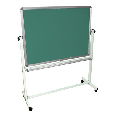 "Luxor Mobile Magnetic Whiteboard 36"" x 48"""