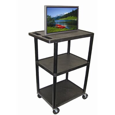 "Luxor 54"" High,  Low Priced Open Shelf Table"
