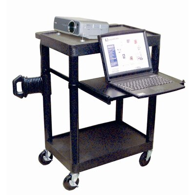 Luxor Sit Down Laptop/Overhead Workstation