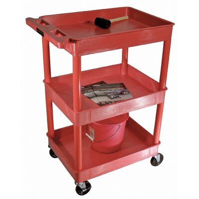Luxor Three Shelf Tub Cart