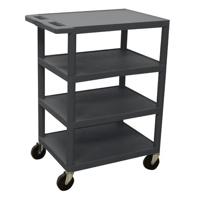"Luxor 36"" 4 Shelf Banquet Cart"