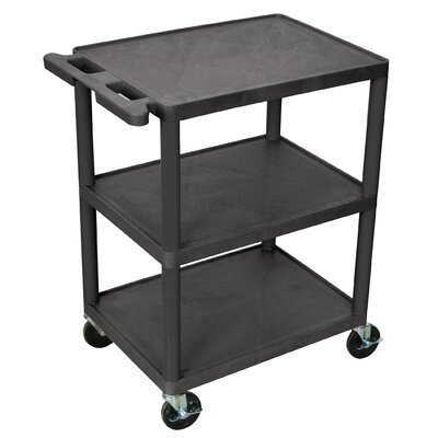 Luxor 32.5'' 3 Shelf Utility Cart