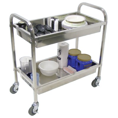 "Luxor 35.5"" Stainless Steel Cart"