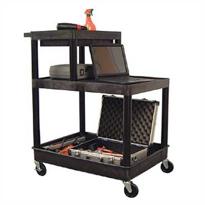 Luxor Stand-Up Tool/Utility Cart