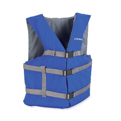 Stearns PFD 2001 Universal Gen Adult Purpose Life Vest in Blue