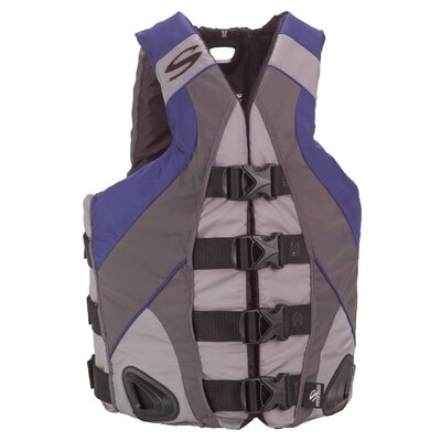 PFD Men's V-Flex Illusion Series Nylon Life Jacket