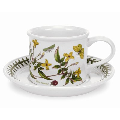 Portmeirion Botanic Garden 7 oz. Coffee Cup and Saucer (Set of 6)