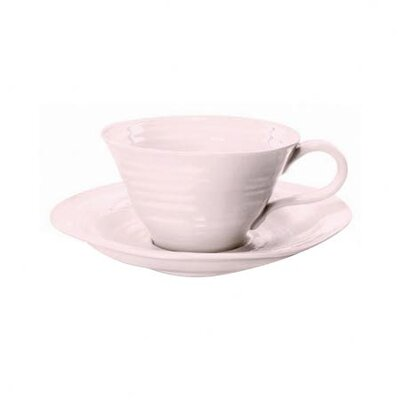 <strong>Portmeirion</strong> Sophie Conran Pink Teacup and Saucer