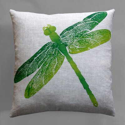 Dermond Peterson Entomology Dragon Fly Pillow
