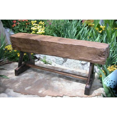 Groovystuff Feed Trough Teak Picnic Bench