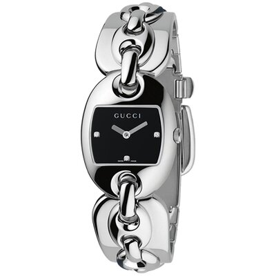 Gucci Women's Marina Watch with Three Diamond
