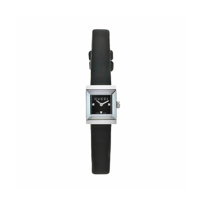 Gucci Women's G Frame Watch with Three Diamond