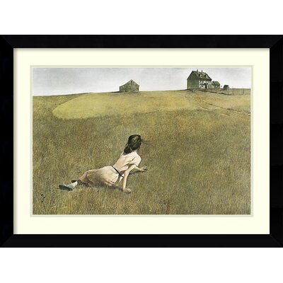 Amanti Art Christina's World Framed Art Print by Andrew Wyeth