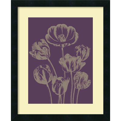 'Tulip 13' by Botanical Series Framed Painting Print