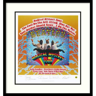 Amanti Art The Beatles- Magical Mystery Tour (Album Cover) Framed Vintage Advertisement