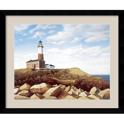 'Turtle Cove Hill' by Daniel Pollera Framed Painting Print