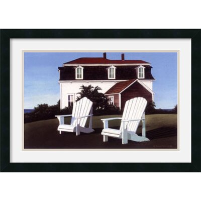 'Calico Hill' by Daniel Pollera Framed Painting Print