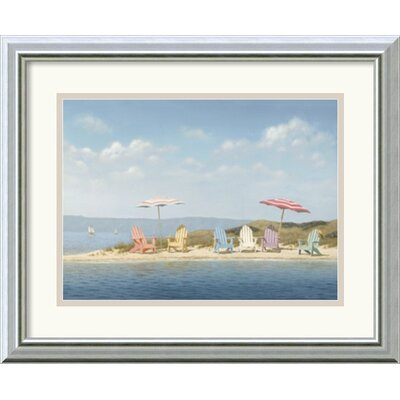 'Summer Colors' by Daniel Pollera Framed Painting Print