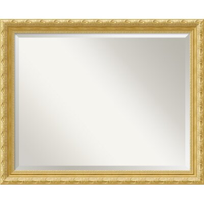 Versailles Large Mirror in Light Gold
