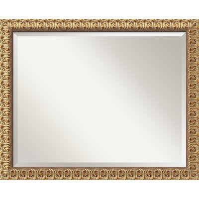 Florentine Large Mirror in Antique Gold Rococo