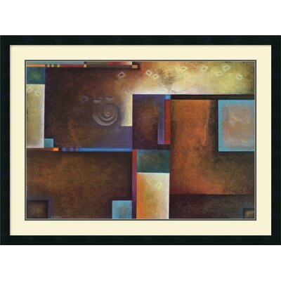 "Amanti Art Satori I by Mari Giddings, Framed Print Art - 29.19"" x 39.19"""